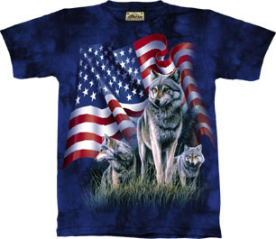 Wolves Flag Shirt