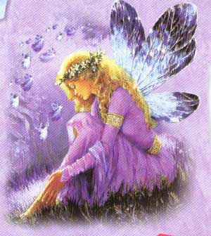 Purple Fairy Wing