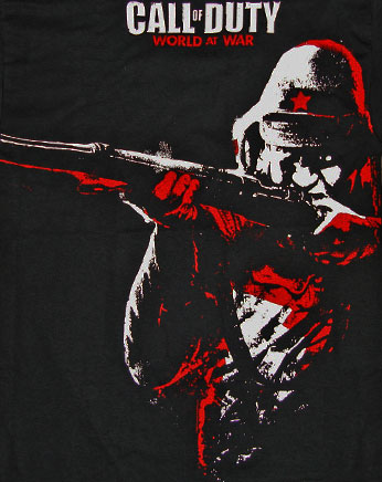 Soldier Call of Duty Shirt