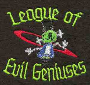 League of Evil Geniuses Polo