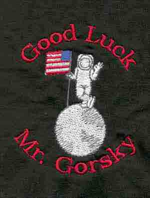 Embroidered Good Luck Mr Gorsky Shirt