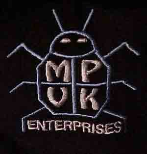 Embroidered MPVK Enterprises Golf Shirt
