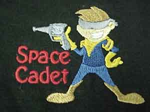 Space Cadet Embroidered Shirt