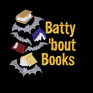 Embroidered Batty Bout Books Sport Shirt