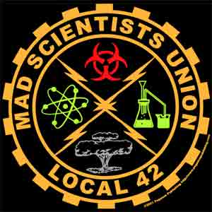 Mad Scientist Union Local 42 Workshirt