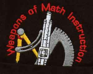 Weapons of Math Instruction Polo