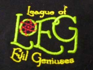 New League of Evil Geniuses Polo