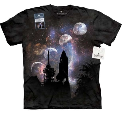 Columbia Shuttle Liftoff T-Shirt