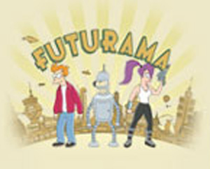 Futurama City T-Shirt