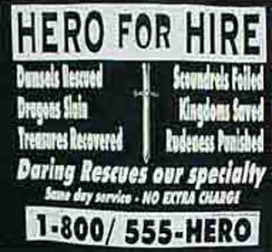 Hero For Hire Shirt