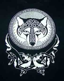 Celtic Wolf Shirt