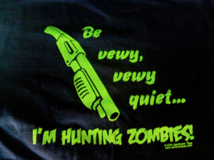 Hunting Zombies Shirt