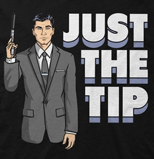 Just the Tip Archer T-Shirt
