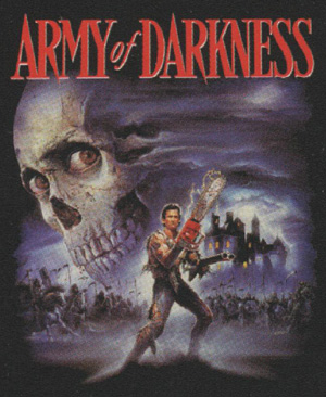 Army of Darkness Skull Poster Shirt