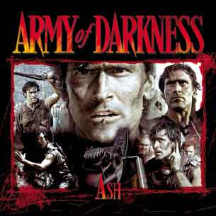 Army of Darkness Ash Collage Shirt