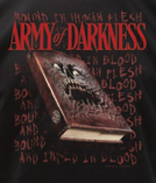 Army of Darkness Necronomicon T-Shirt