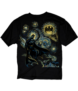 Abstract Batman T-Shirt