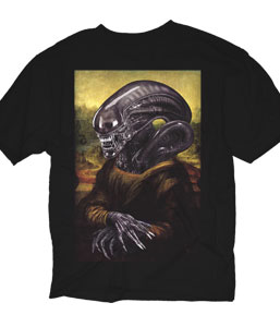 Alien Painting T-Shirt