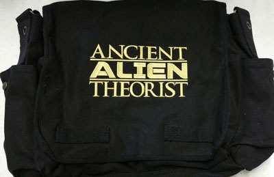 Ancient Aliens Theorist Messenger Bag