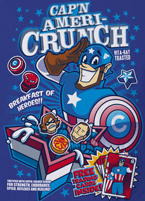 Captain Americrunch T-Shirt