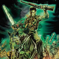 Army of Darkness Designed by Glenn Humphries T-Shirt