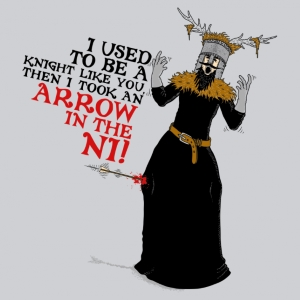 Arrow to the Ni T-Shirt