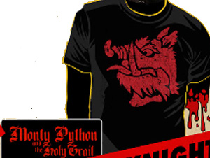 Black Knight Monty Python Shirt