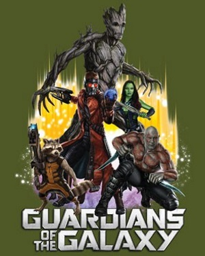 Battle Ready Guardians of the Galaxy T-Shirt