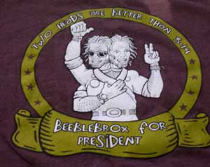 Beeblebrox for President