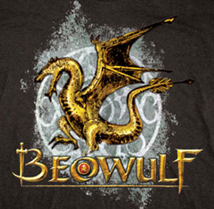 Beowulf Dragon Logo Shirt