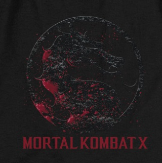 Mortal Kombat Bloody Logo T-Shirt