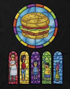 Bob's Burgers - Stained Glass T-Shirt
