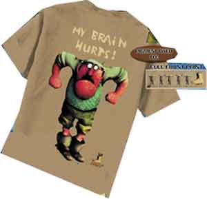 My Brain Hurts Monty Python Shirt