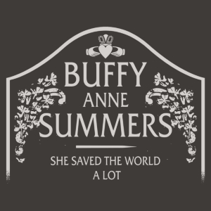 Buffy Summers Gravestone T-Shirt