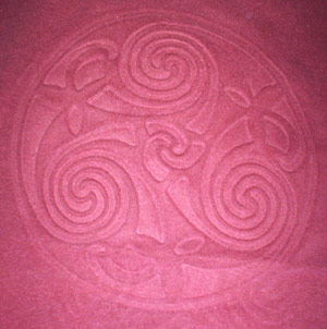 Celtic Spiral Embossed Shirt