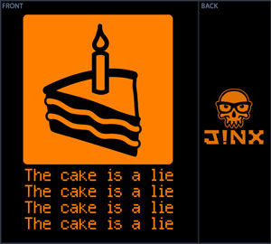 The Cake is a Lie BabyDoll Shirt