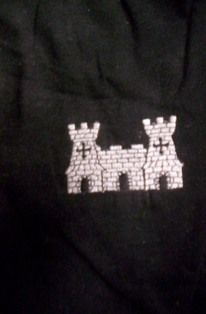 Castle Embroidered Polo