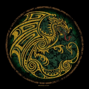 Celtic Dragon Circle T-Shirt