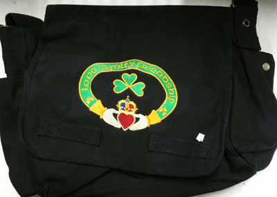 Claddagh Messenger Bag