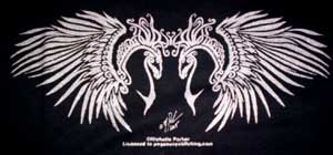 Celtic Twin Pegasus Shirt