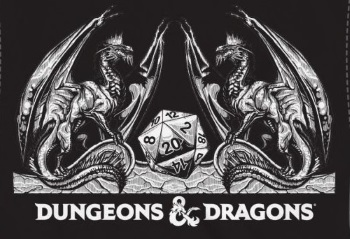 Dungeons & Dragons Black T-Shirt