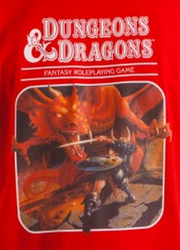 Dungeons & Dragons Red T-Shirt