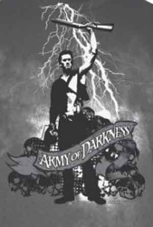 Army of Darkness White Lightning Shirt