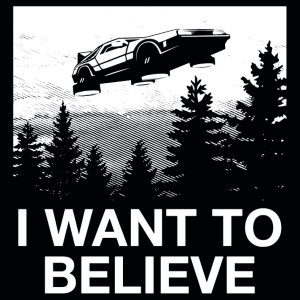 Delorean Believe T-Shirt