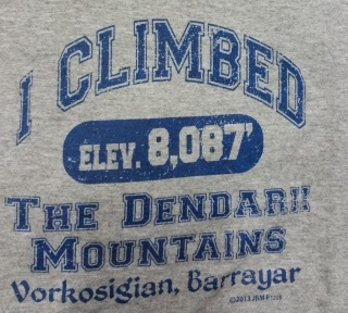 I Climbed Dendarii Mountains T-Shirt