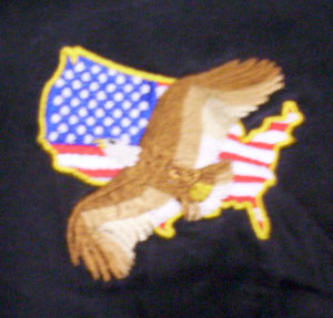 Eagle Flag Polo