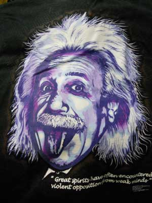 Einstein Quote Shirt