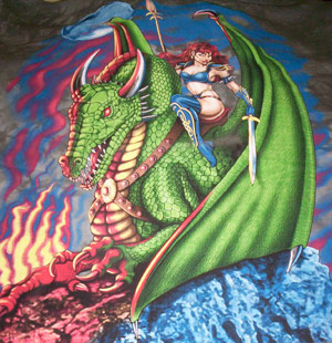 Elvin Dragonrider Shirt