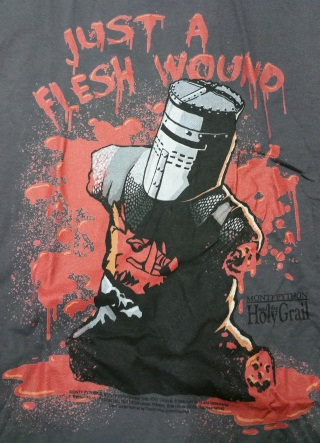 Flesh Wound Black Knight T-Shirt