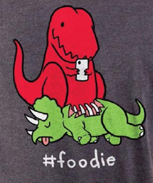 #Foodie T-Shirt